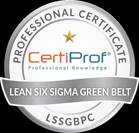 Lean Six Sigma Gree Belt Professional Certificate