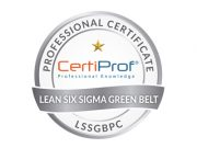 LSSGBPC Proffessional Certificate
